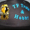Hats designed for local hobby store.