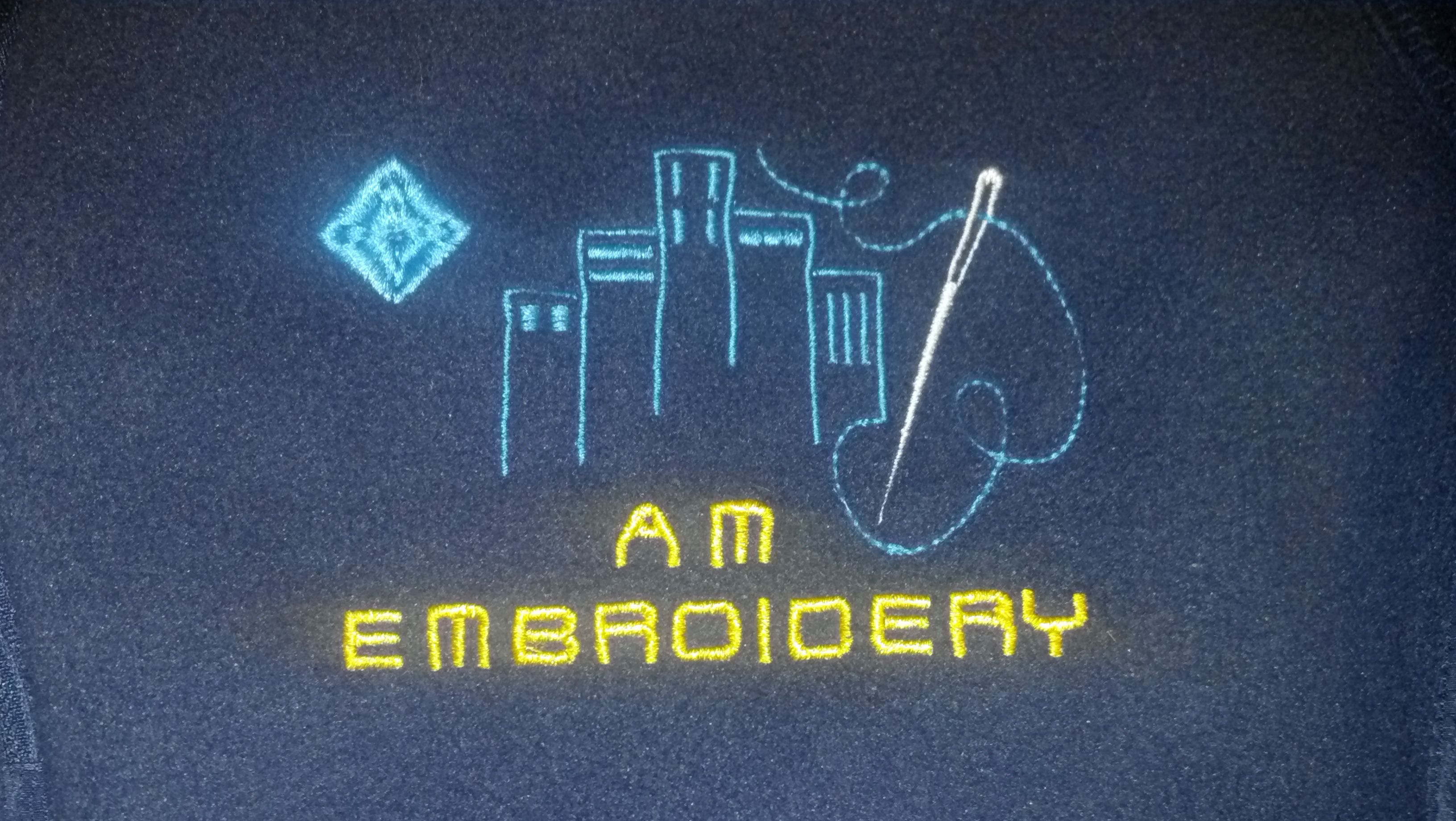 Logo Embroidered